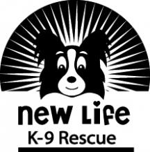 New Life K9 Rescue LOGO ADI